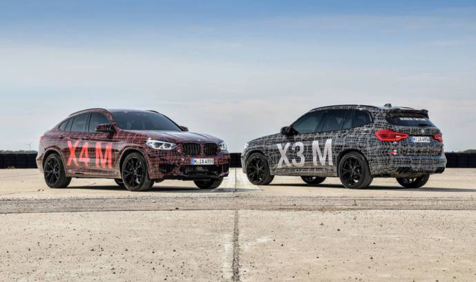 First video teaser of the all-new BMW X3 M and BMW X4 M