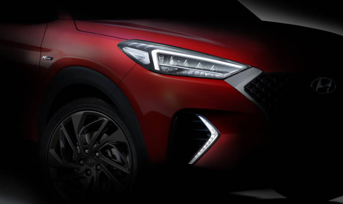 Hyundai Tucson N Line - first teaser pictures