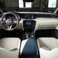 Infiniti QX50 receives high-quality materials inside