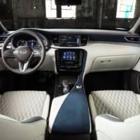 Infiniti QX50 receives high-quality materials inside