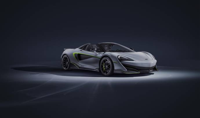 McLaren 600LT Spider customised by MSO