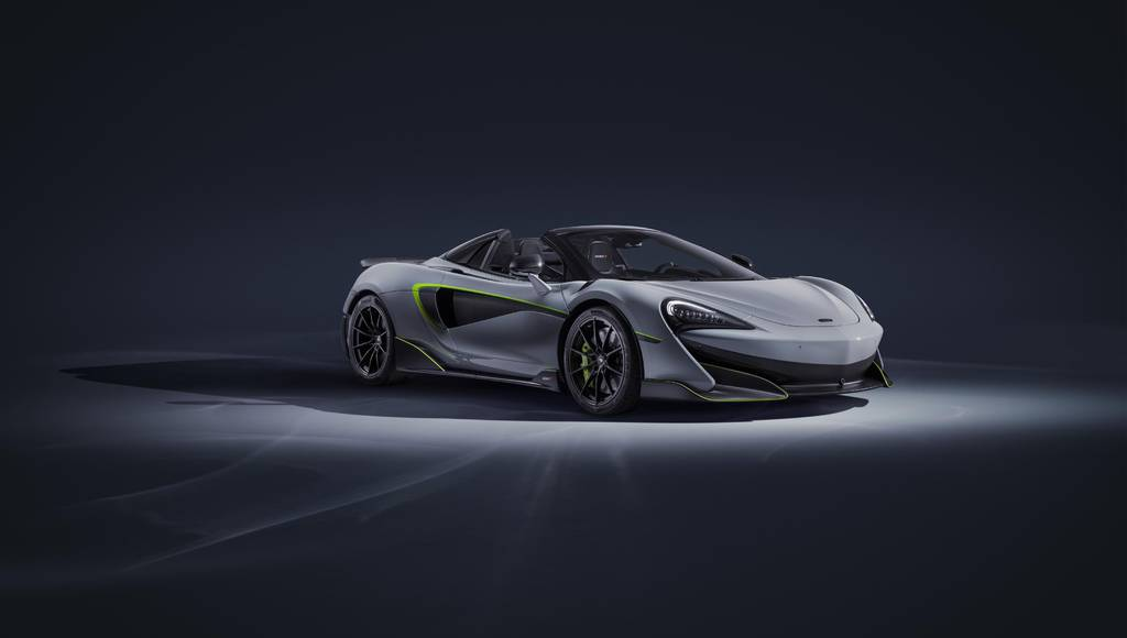McLaren unveiled the 600LT Spider by MSO