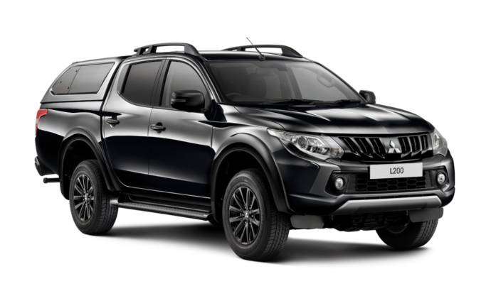 Mitsubishi L200, the most popular pick-up sold in UK