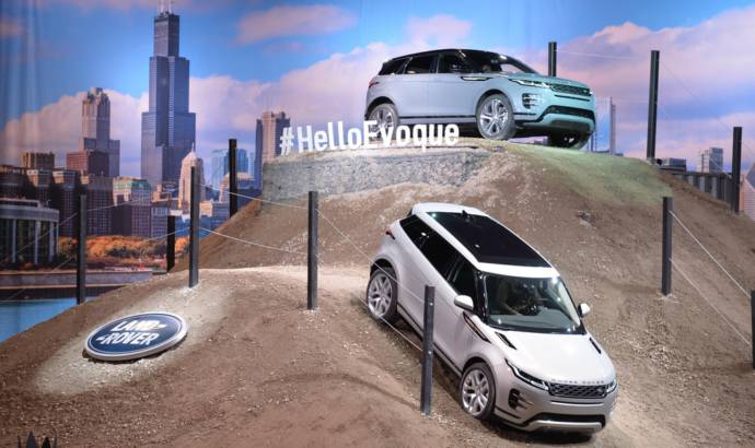 New generation Range Rover Evoque made its US debut