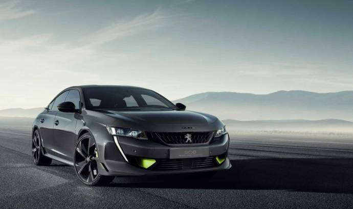 Peugeot unveiled the all-new 508 Sport Engineered Concept