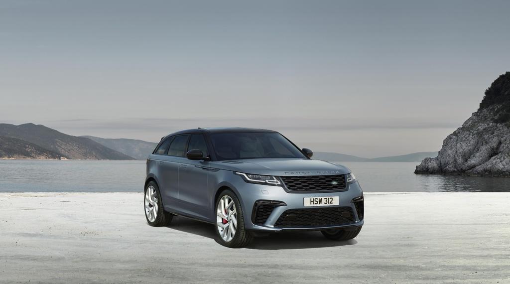 Range Rover Velar SVAutobiography Dynamic Edition unveiled