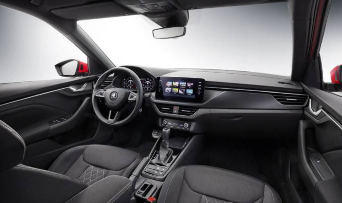 Skoda Kamiq first interior photo