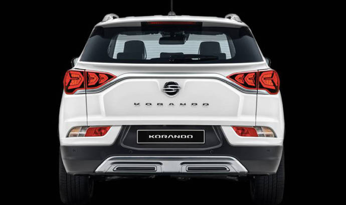 SsangYong Korando, first official pictures