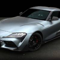 Toyota unveiled the Supra TRD Concept