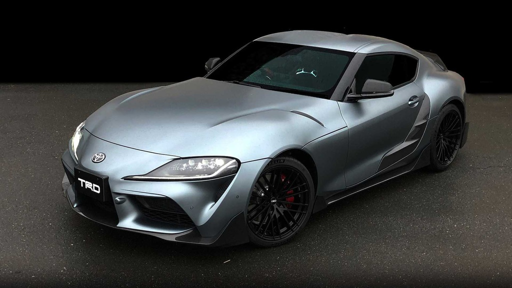 Toyota unveiled the Supra TRD Concept