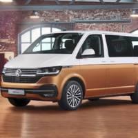 Volkswagen Multivan 6.1 unveiled