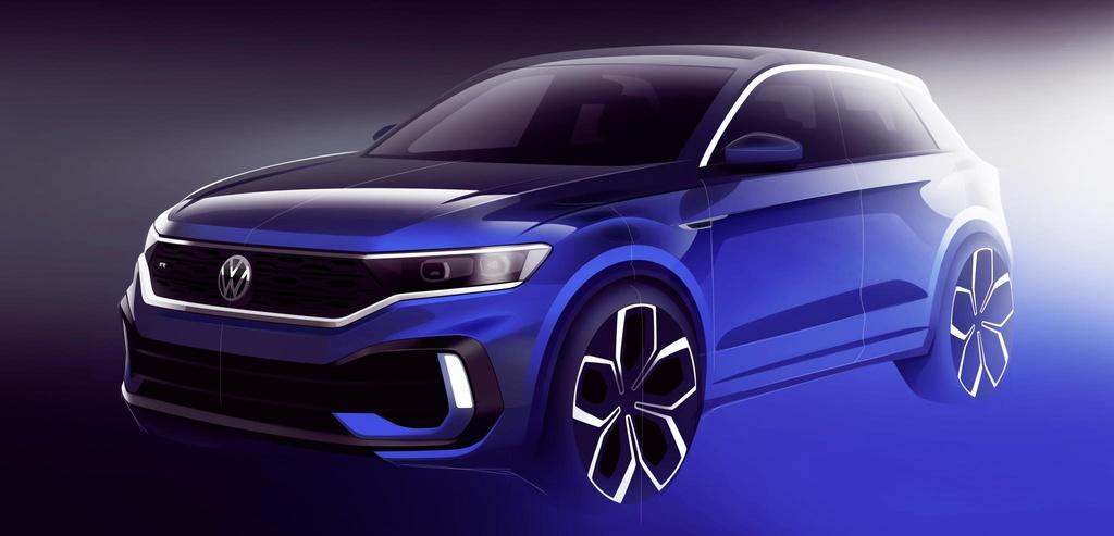Volkswagen T-Roc R to be launched in Geneva
