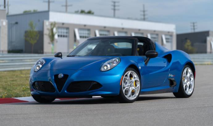 2020 Alfa Romeo 4C Spider Italia available in US