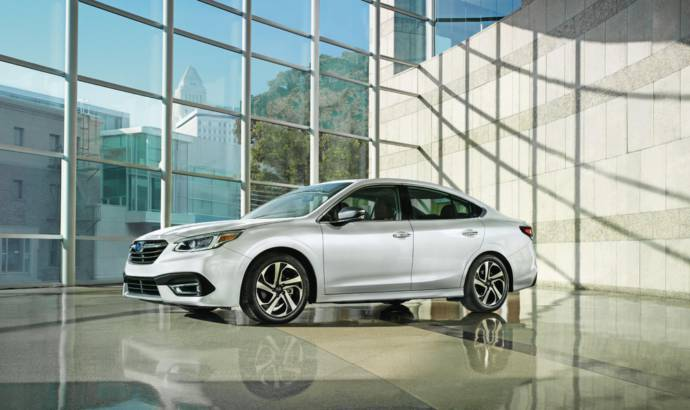 2020 Subaru Legacy new generation unveiled