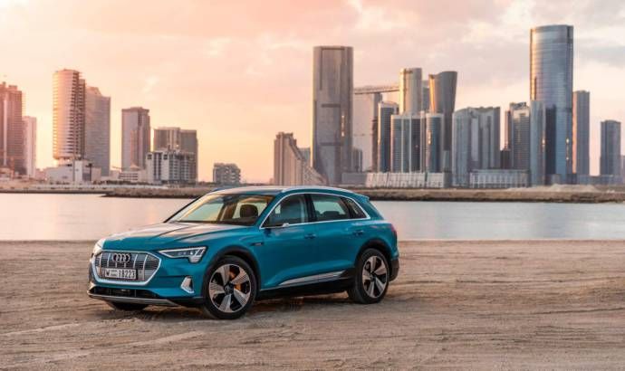 Audi e-tron UK price - the first electric SUV from Ingolstadt starts at 71.490 GBP