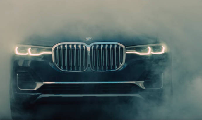 BMW X7 - fist official commercial