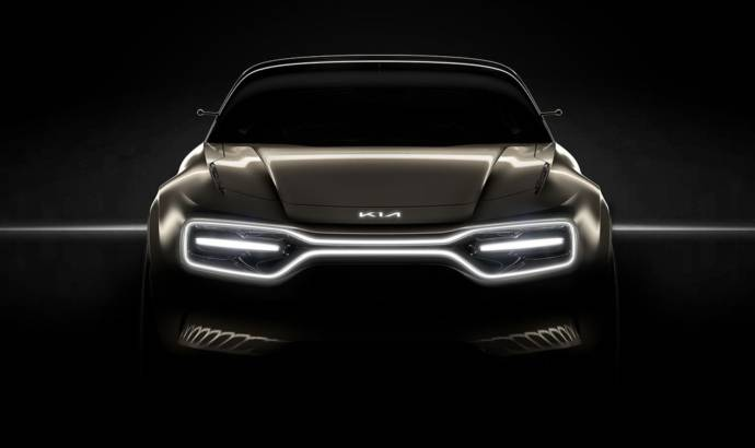 Kia teases a new sporty electric car