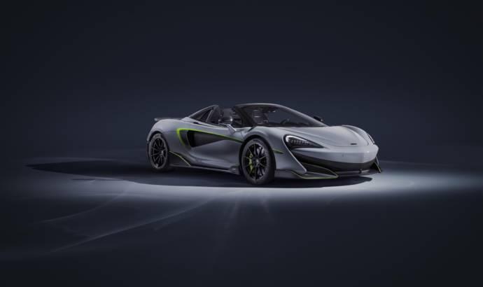 McLaren 600LT Spider customised by MSO