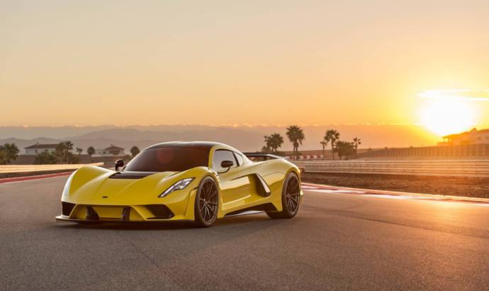 The production version of the Hennessey Venom F5 will be available in 2020