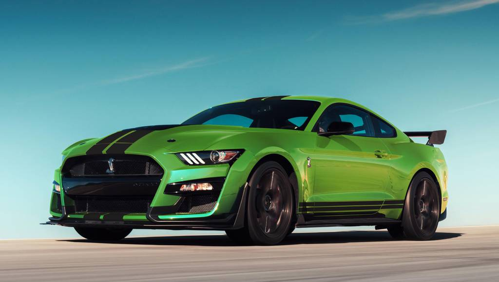 2020 Ford Mustang offers Grabber Lime color