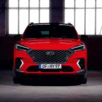 2020 Hyundai Tucson N Line has some sporty accents and new mild-hybrid engine