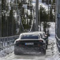 2020 Porsche Taycan enters final testing