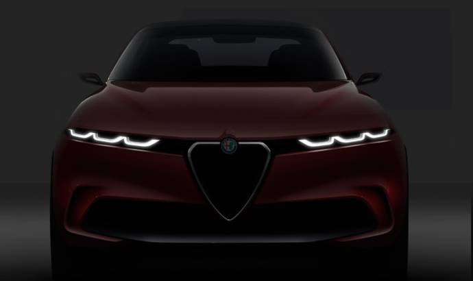 Alfa Romeo Tonale Concept is previewing a new compact SUV
