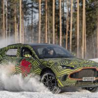 Aston Martin DBX endures Arctic tests