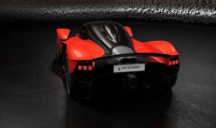 Aston Martin Valkyrie will have 1.160 HP