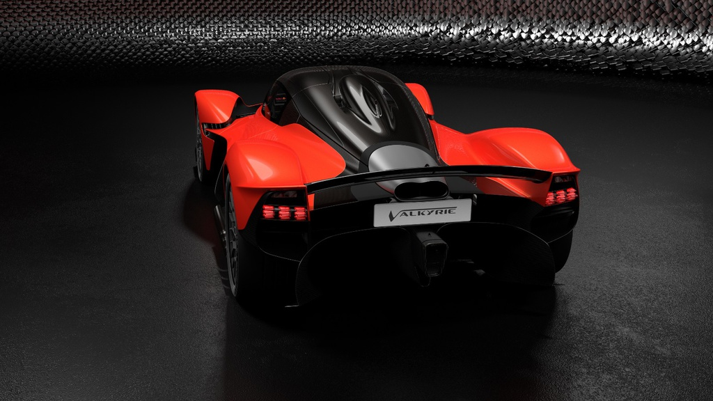 Aston Martin Valkyrie will have 1.160 HP