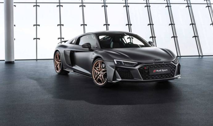 Audi developed the R8 V10 Decennium to celebrate 10 years of the 5.2 liter FSI engine