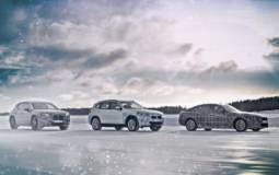 BMW IX3, I4 and INext endure the Arctic cold and snow