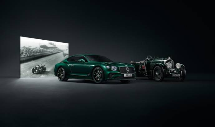 Bentley unveiled the Continental GT Number 9 Edition by Mulliner