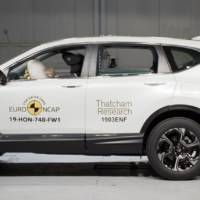 Honda CR-V awarded five stars by EuroNCAP
