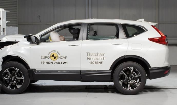 Honda CR-V awarded five stars by EuroNCAP