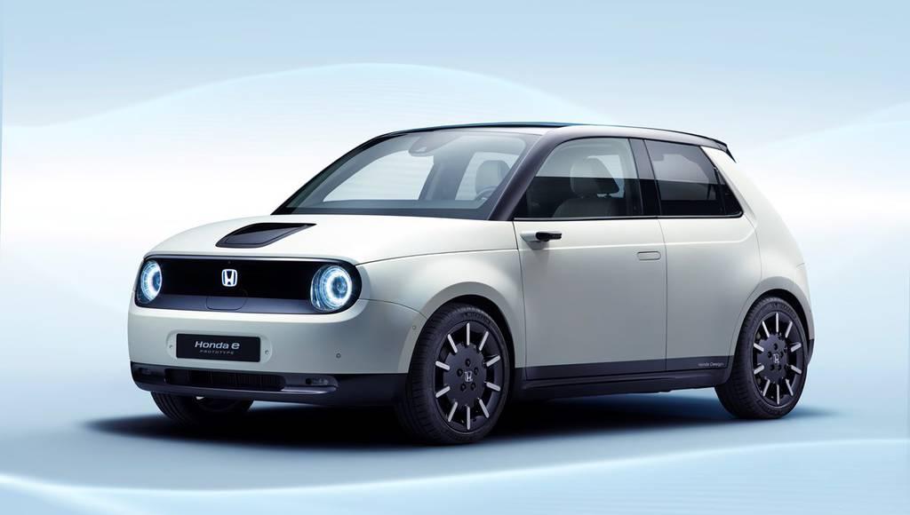 Honda e-Prototype showed in Geneva