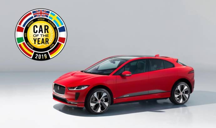Jaguar I-Pace won the European Car of the Year 2019 award