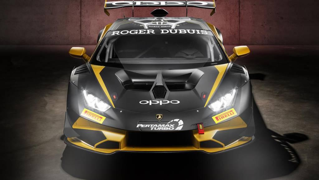 Lamborghini Huracan Super Trofeo Evo launched