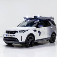 Land Rover Discovery modified for Mobile Malaria Project