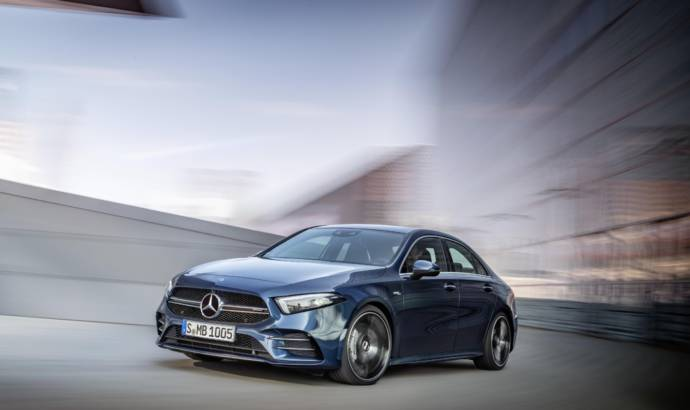 Mercedes-AMG A35 4Matic Saloon unveiled