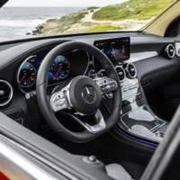 Mercedes GLC Coupe facelift revealed
