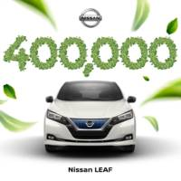 Nissan Leaf reaches 400.000 units produced