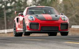 Porsche 911 GT2 RS is the fastest production car around Road Atlanta circuit