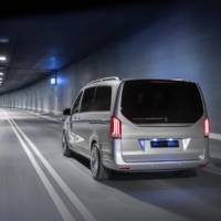 This is the 2019 Mercedes-Benz EQV concept