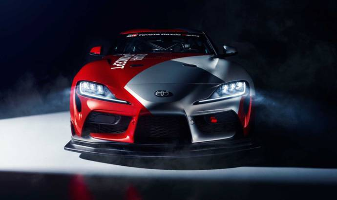 Toyota GR Supra GT4 Concept was developed to compete in GT4 series