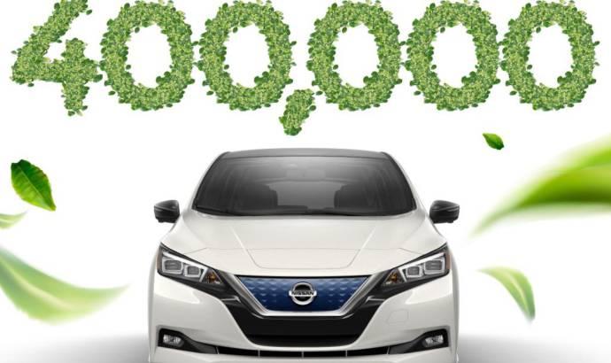 Nissan Leaf reaches 400.000 units produced