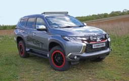 2019 Mitsubishi Outlander Shogun Sport SVP Concept unveiled