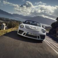 2019 Porsche 911 Speedster Heritage Design Package unveiled