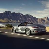 2019 Porsche 911 Speedster Heritage Design Package unveiled