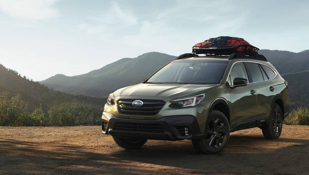 2020 Subaru Outback introduced in New York